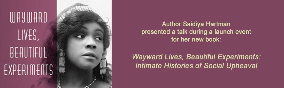 Saidiya Hartman's book